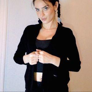 CLASSIC chic Calvin Klein black cardigan